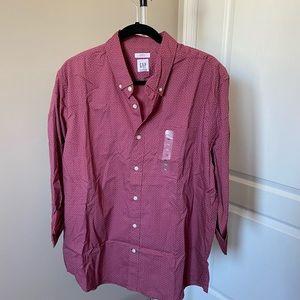 Gap untucked dress shirt